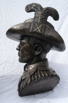 boer war bronze sculpture
