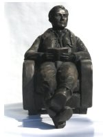 at readiness pilot bronze by Peter Close