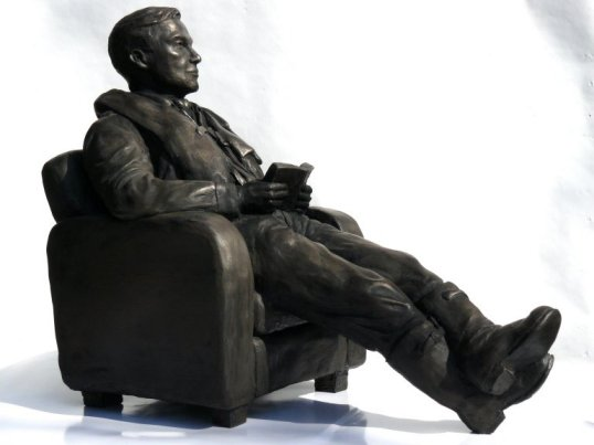 RAF pilot bronze sculpture