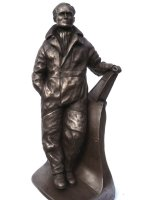 bader bronze sculpture