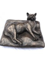 bronze cat lover gift
