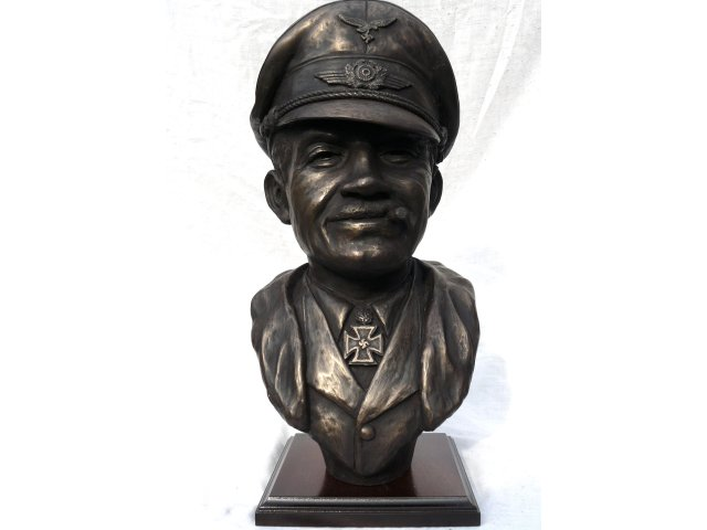 adolf galland bronze bust