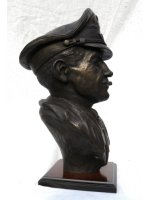 dolfo galland bronze bust