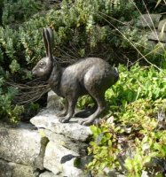 hare garden ornament