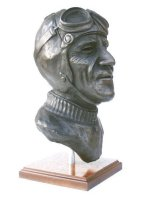 motorsport bronze sculpture